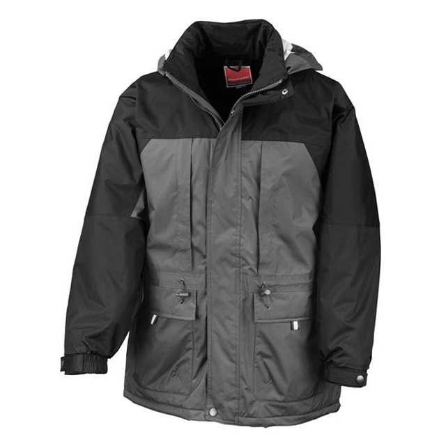 High Quality Custom Winter Cold Weather Quilted Lining Work Parka Men's Heavy Weight Coats
