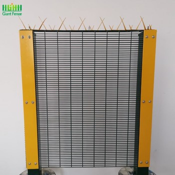 Malaysia low price anti climb high security wire wall fence 358 anti climb fence