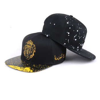 Wholesale custom fitted hot high quality snapback design your own logo