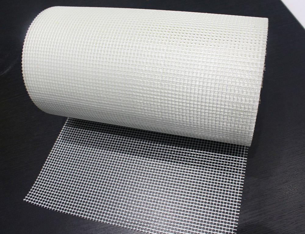 J&F Hot Sale! 75g 1*50m 5*5 fiberglass mesh for wall reinforced