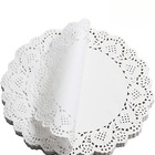 "Paper 100 4"" Lace Paper Doilies For 100 Pcs For Tableware Decoration Lace Paper Doilies White Paper Doilies For DIY"