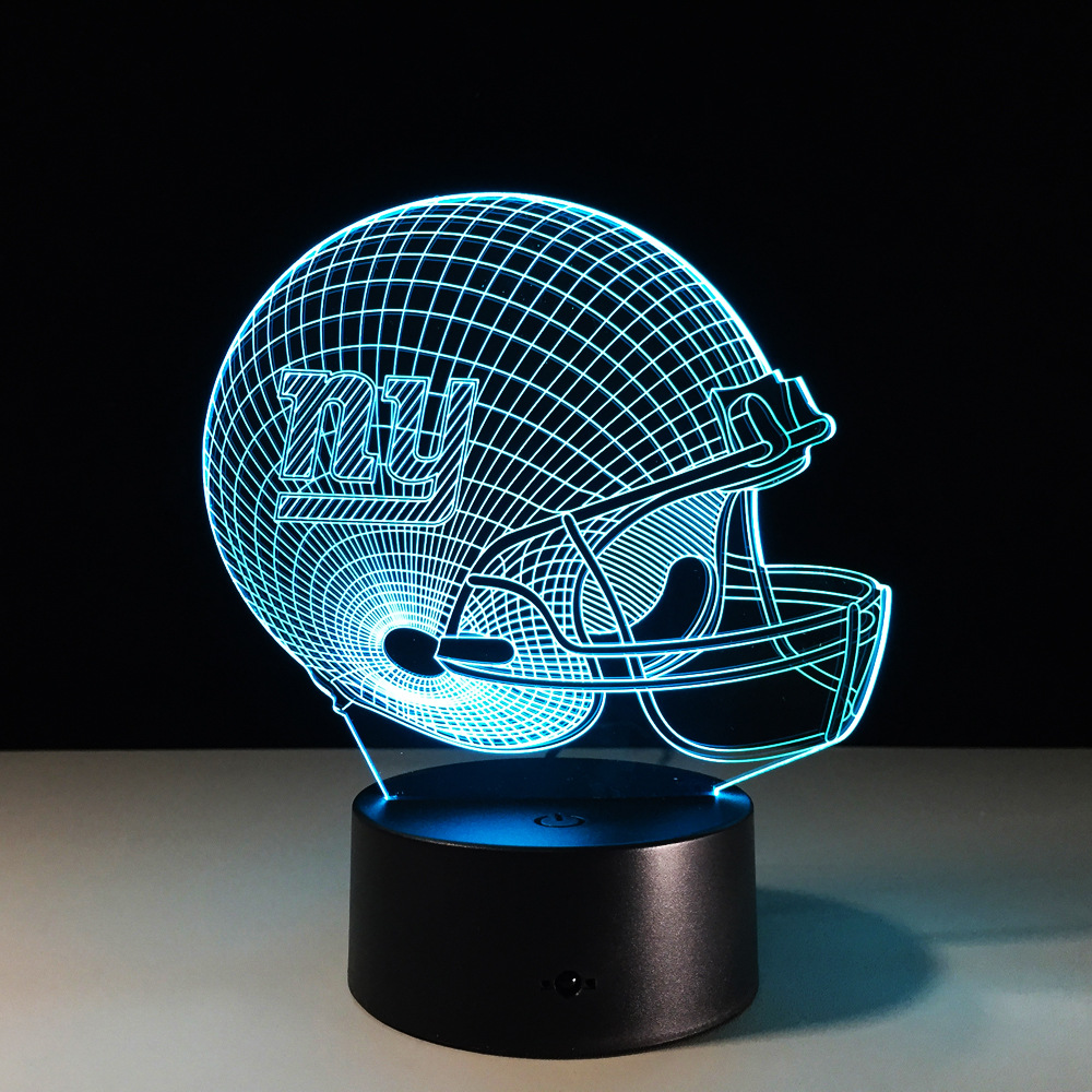 NFL Atlanta Falcons  3D Night Light 7 Colors Change LED Table Lamp Xmas