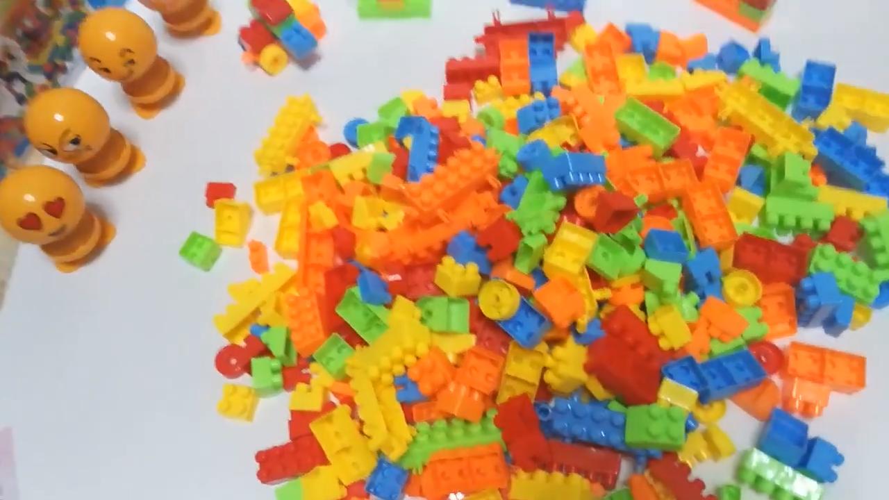 150PCS Baby large particles plastic building blocks kids educational plastic building blocks toys