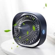 Настольный мини-вентилятор SmartDevil с USB, 3 скорости, персональный портативный вентилятор охлаждения с регулируемым углом поворота на 360 градус...(China)