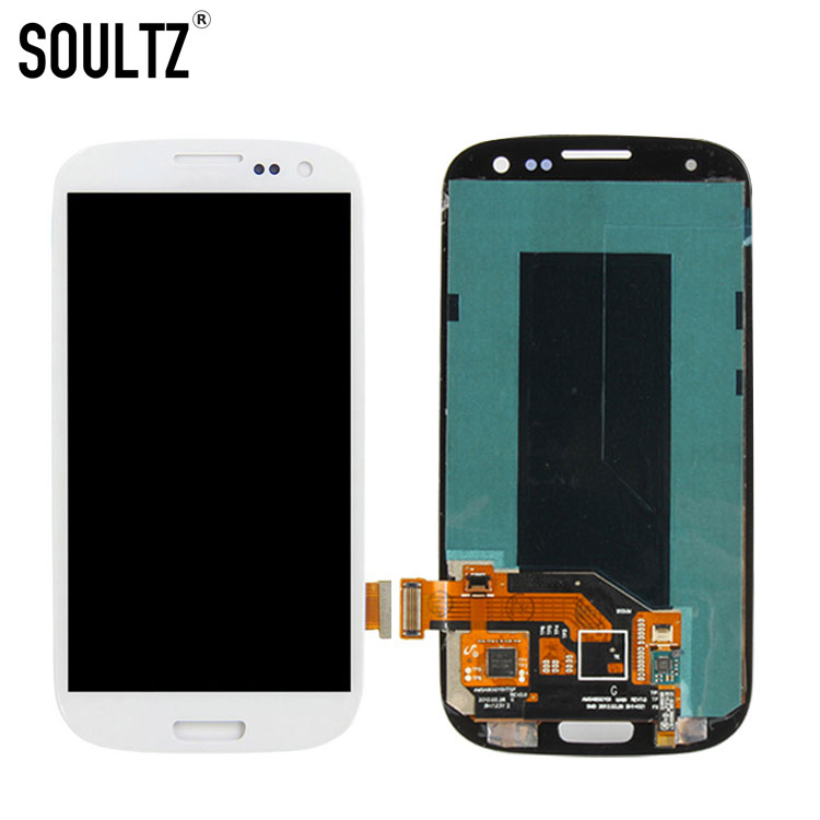 Soultz OLED display screen für samsung galaxy S3 i9300 ersatz lcd screen digitizer montage für samsung galaxy S III