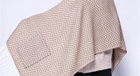 Acrylic Scarf Scarf Manufacturers 2020 Hot Selling Acrylic Viscose Herringbone Pocket Scarf Winter Warm Shawls For Ladies