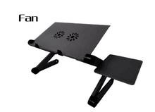 Регулируемая подставка для ноутбука из алюминиевого сплава, Настольная кровать для ноутбука, подставка для ноутбука с охлаждающим вентиля...(Китай)