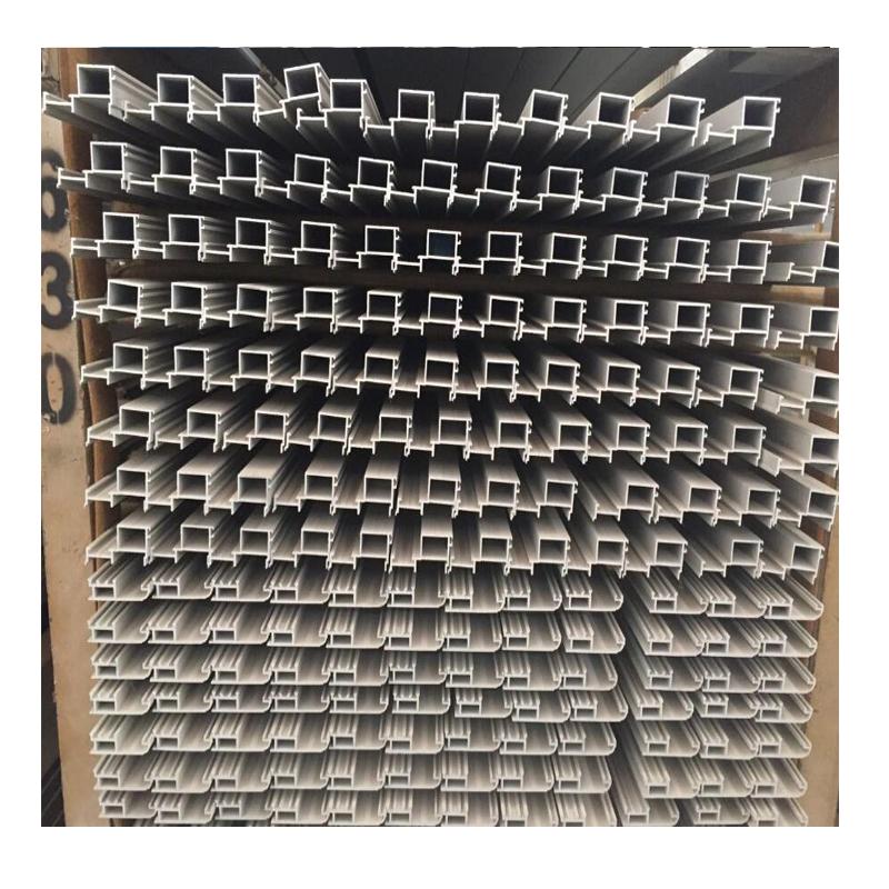 Aluminium Profile Factory Custom aluminium 7075 t6 Extrusion , Extruded Industrial Aluminium Profile 6061