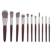11 Buah Set Kuas Makeup Profesional Multi Warna Fashion Kosmetik Kit Ki <span class=keywords><strong>Mini</strong></span> Sikat Tinggi Marmer Mata Modis <span class=keywords><strong>Diy</strong></span> 11 buah