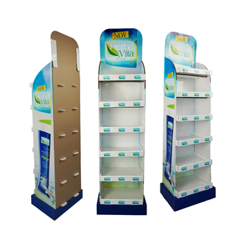 Recycled Paper Cardboard Material Cardboard Display Stand with Customized Size