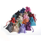 Wholesale Small Jute Drawstring Pouches jute bag Linen Drawstring fashion bag For Gift