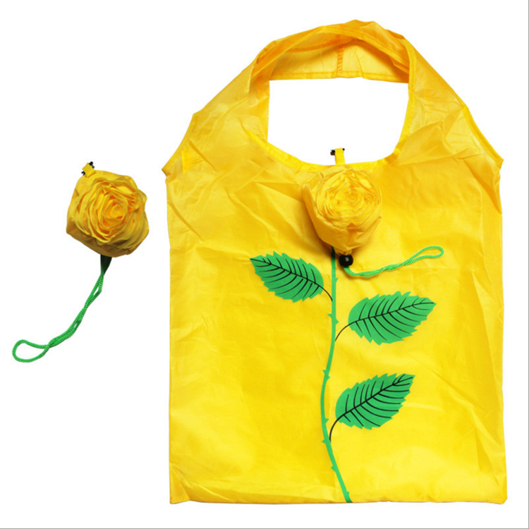 Lightweight Easy To Carry Reusable Convenient Portable Nylon Foldable Shopping Grocery Bag