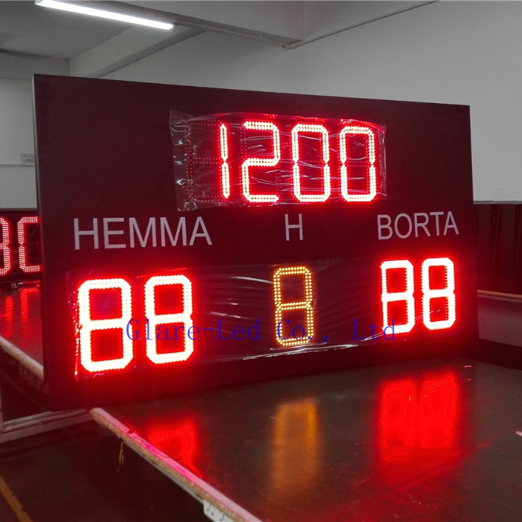 Tempo & Punteggio Display Elettronico Display A LED Elettronico Digitale Da Tavolo Da Tennis Scoreboard