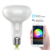 BR30 Smart Light Bulb Compatible with Alexa and Google Home LED RGB color Dimmable wifi bulb