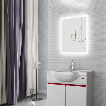 Made in china illuminated mirror with led light bathroom
