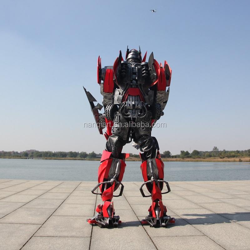 3 M Life Size Realistic Stilt Legs Robot Suits For Event