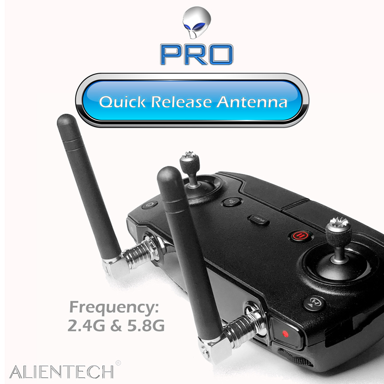 Martian ALIENTECH 2.4G/5.8G DUO Anteena a of OMNIDIRECTIONAL with Quick Release For DJI Spark/Mavic/Phantom/Inspire /M600 Drones