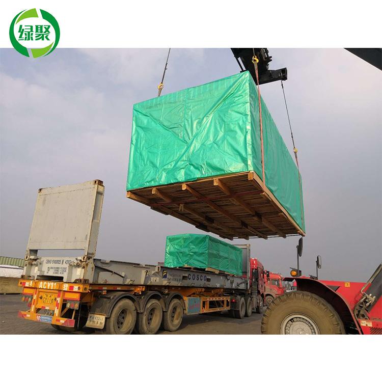 Строительный материал PE брезент в строительстве временный сайт брезент брезентовое покрытия для строительства