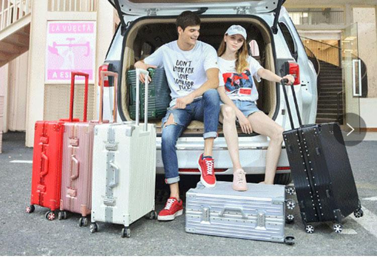 Чемодан для багажа хорошего качества, чемодан из АБС, чемодан для багажа, тележка с замком tsa