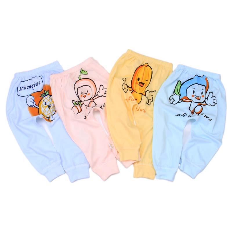 Hot sale 0-3-year-old baby's harem pants cute newborn clothes baby pants cotton bulk wholesale baby clothes