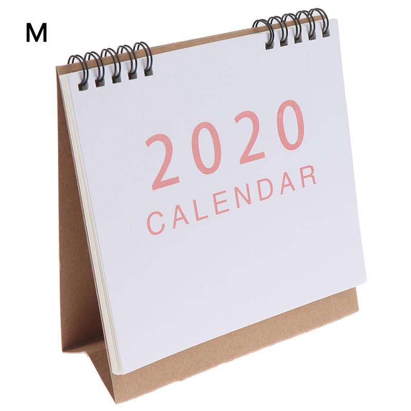 2020 настольный календарь, школьный офисный планировщик, горячая Распродажа Kawaii порядок дня, настольный календарь, ежедневный планировщик(Китай)
