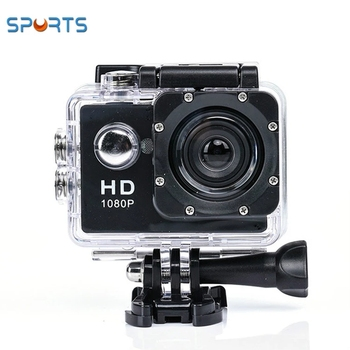 2019 Amazon hot selling A7 Waterproof HD 1080P Sport Action camera 170 degrees Camera DVR Cam DV Video Camcorder