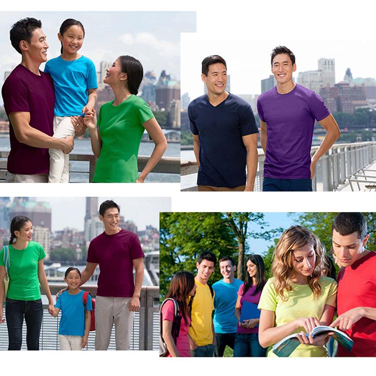 2020 Fashion Clothing Print Cloth T Shirt Top Heavy Cotton Plain Short Sleeve Graphic T Shirts O-Neck Poly Tee Shirt For Women