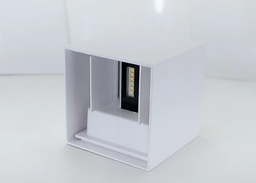 Modern 10W led duvar Işık Yatak Odası Spot Aydınlatma Yukarı Aşağı Lamba Aplik Fikstürü Ev