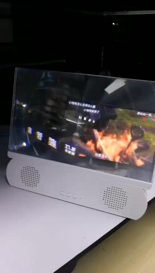 บลูทูธสเตอริโอโทรศัพท์มือถือเครื่องขยายเสียง Enlarge Screen สำหรับโทรศัพท์มือถือแว่นขยาย VR