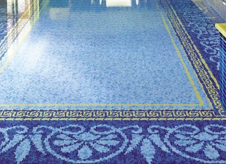 waterline pool tiles glass tiles glass mosaic