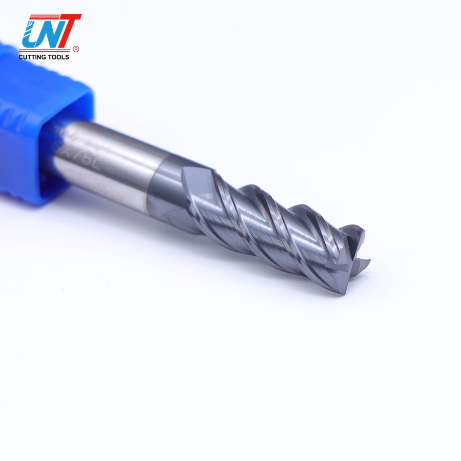 UNT Carbide end mill TiCN coating Metalen snijgereedschap voor CNC machine
