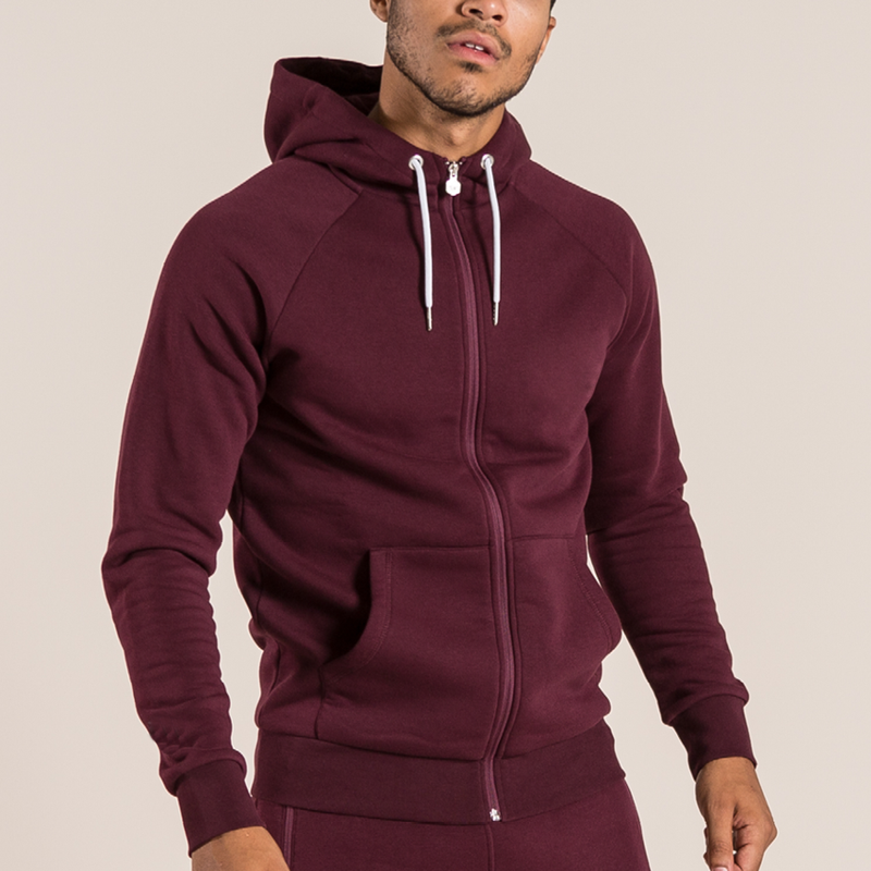 Hot sale sportswear men tracksuit oem logo embroidery slim fit unisex sweatsuit