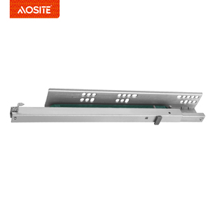 UP02 AOSITE Kitchen cabinet husky install soft close drawer plastic slide parts