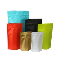 Custom Printing Coffee Bag Printed Stand Up Pouches Plastic Zipper Packaging