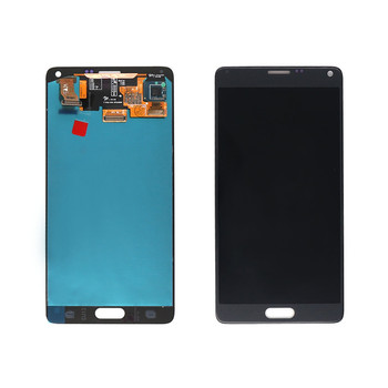 Factory price 5.7'' Pantalla LCD screen For Samsung Galaxy Note 4 LCD digitizer with stylus flex