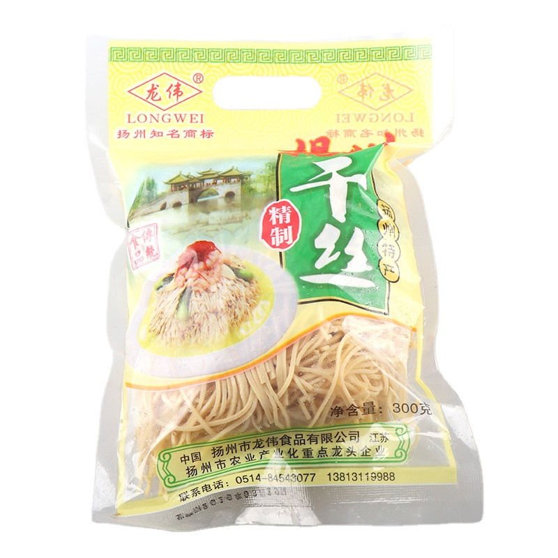 Yangzhou authentic specialty snacks dried silk bean products