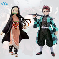 9 Styles Cosplay Anime Toys Demon Slayer Kamado Tanjirou Nezuko PVC Boxed Action Figure Hand Model