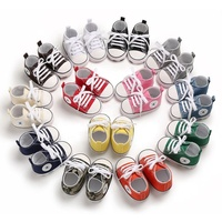 Free Shipping Brand newborn sneakers infant sport toddler canvas shoes for baby boy