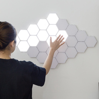 Quantum lamp Honeycomb Wall touch light led night light sensitive led touch lamp