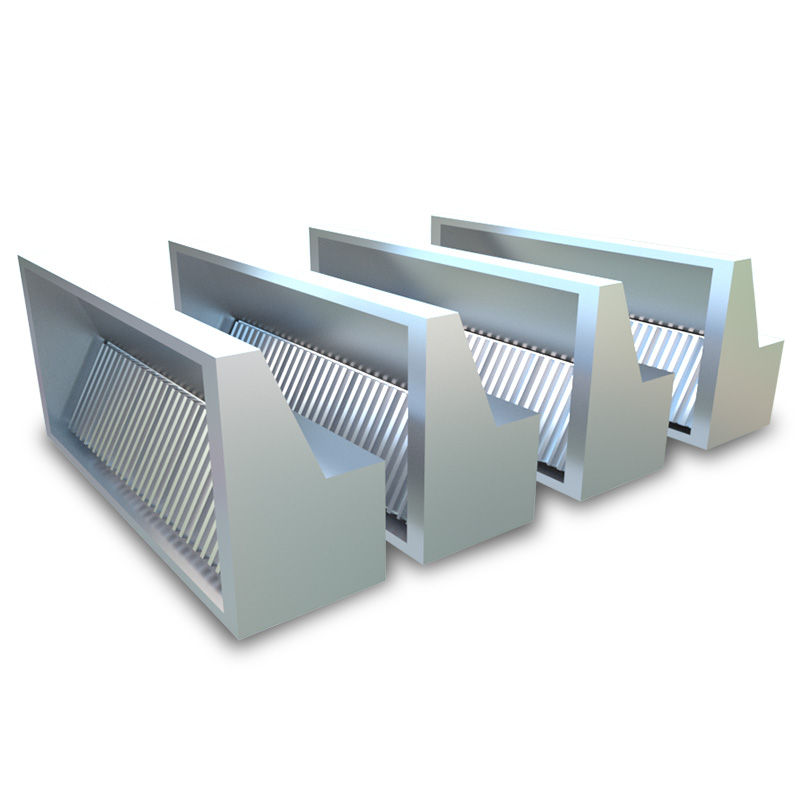 Commercial chimny range ventilation wall mounted smoke hoods exhaust hood for small restaurant