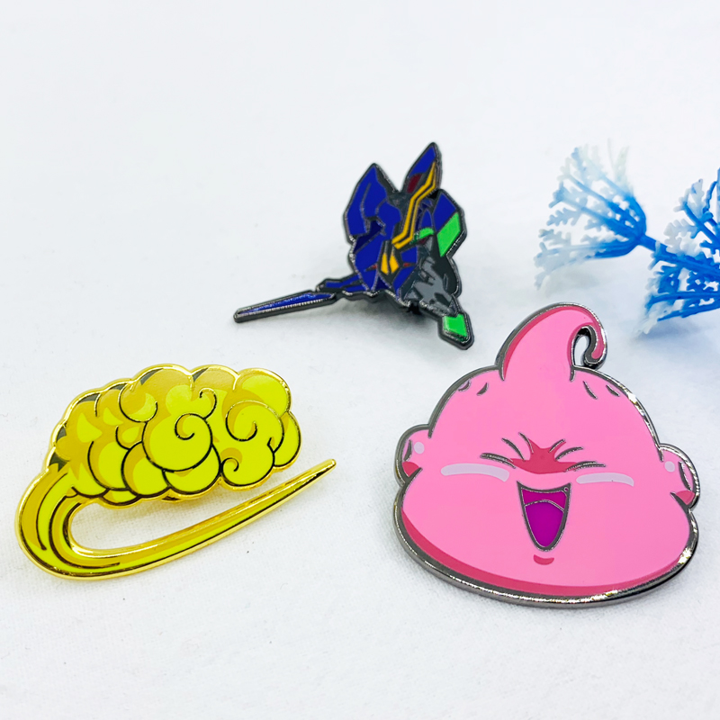 <strong>custom</strong> <strong>metal</strong> cartoon hard enamel lapel pin <strong>badge</strong> No Minimum Order with butterfly clutch