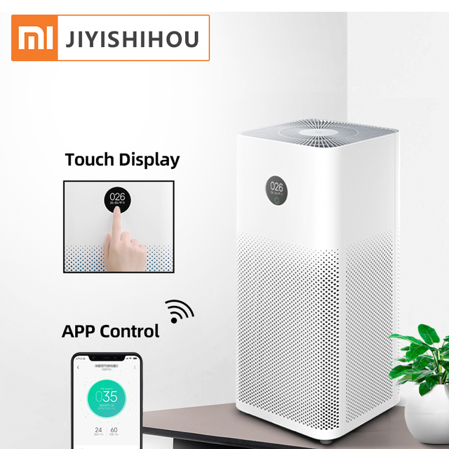 2020 New Arrival Xiaomi Mi Air Purifier 3 Home PM2.5 Cleaning Room OLED Display 360-Degrees Fan 3-Layered Mi Air Purifier 3