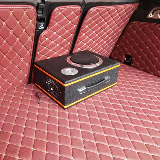 6 inch Portable Slim Amplifier Speakers Audio Woofer Box High SPL Bluetooth Subwoofer Car