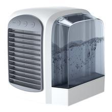 Мини портативный кондиционер кулер вентилятор с водяным охлаждением USB офисный Настольный ручной вентилятор для воды портативный вентилят...(Китай)