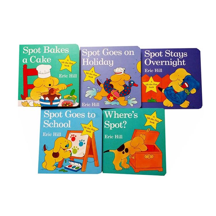 China custom barato impressão do livro de capa dura crianças educacionais story board