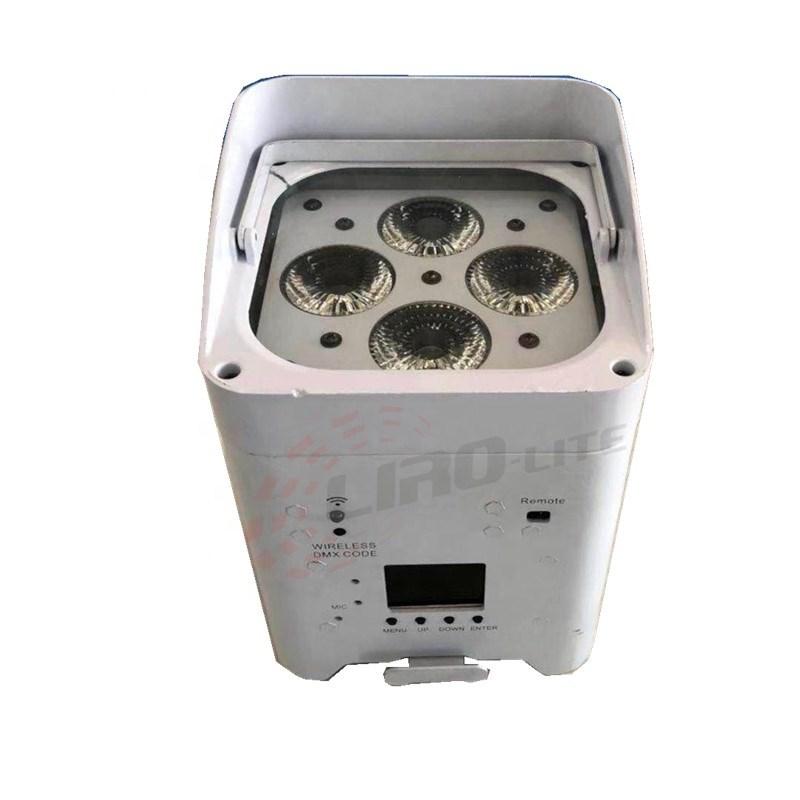 A level 4x18w high power battery led par Accu spot