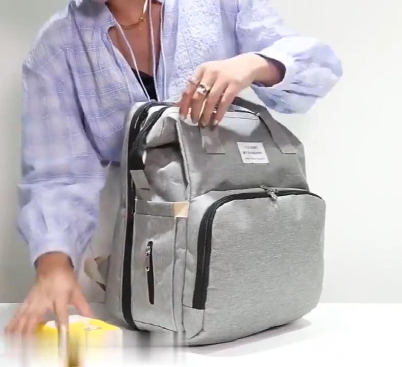 Mommy для путешествий на открытом воздухе, сумка для подгузников и пеленок