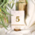 best price gold foil stamp paper card weeding table numbers signs