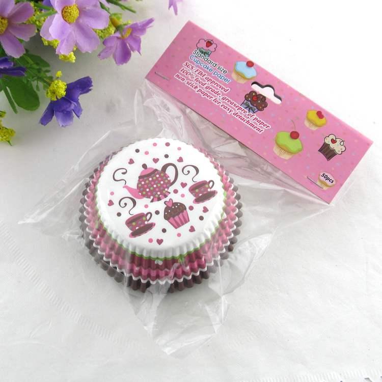 2020 Nieuwe Groothandel Muffin Bakken Theepot Cupcake