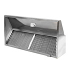 Commercial hotel stainless steel wall-mounted kitchen range hood exhaust hood